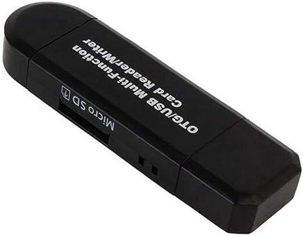 Micro USB OTG a USB 2.0 Scheda Adattatore USB Tipo C D / Micro D Lettore Schede di Memoria per per Rs-Mmc Mmc SDHC SDXC Micro Micro SDXC D Micro SDHC Scheda per Smartphone Android Tablet PC (Nero) - Trova i prezzi più bassi