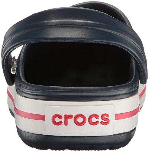 Crocs Crocband Unisex Adulta Zuecos, Azul (Navy), 41/42 EU