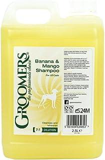Groomers - Champú de 25 l para Perros con Aroma a plátano y Mango