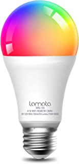 Lomota Smart Light Bulb Dimmable, Compatible with Alexa...