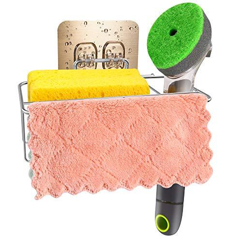 Adhesive Sponge Holder 3-in-1 Sink Caddy
