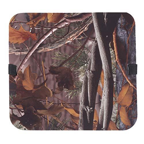 Cojín Mat para exteriores, para la familia, para la caza, picnic, camping y otras actividades al aire libre(New leaf camouflage)