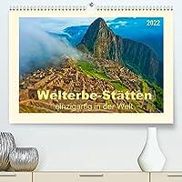 Welterbe-Staetten - einzigartig in der Welt (Premium, hochwertiger DIN A2 Wandkalender 2022, Kunstdruck in Hochglanz): Einzigartige Staetten in der Welt mit dem Titel Welterbe, verliehen von der UNESCO. (Monatskalender, 14 Seiten )