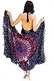 Mandala Life ART Donne Rayon Pareo Spiaggia Sarong la Balneazione Costume da Bagno Bikini Avvolgono