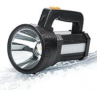 Bigsun Bright LED Rechargeable Flashlight (Black)