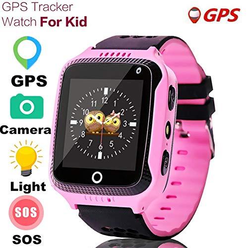 CQ Q528 GPS Smart Watch Mit Kamerataschenlampe SOS Standortbestimmung GeräTe-Tracker Safe Pk Q100 Q90 Q60 Q50 85455,pink