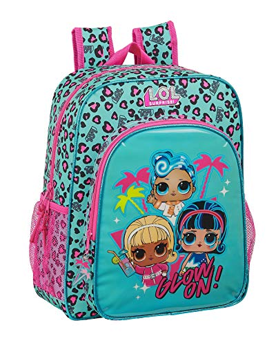 Safta 612047640 Mochila junior niña adaptable carro Lol