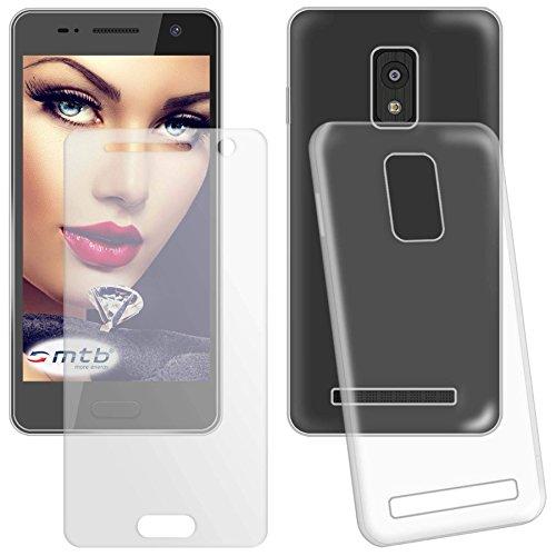 mtb more energy® Schutzglas und Schutzhülle für Huawei P8 lite (5.0