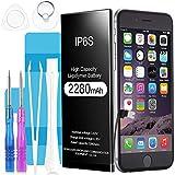 Batterie iPhone 6s, Suzi 2280mAh Batterie Interne de Remplacement Grande capacité...