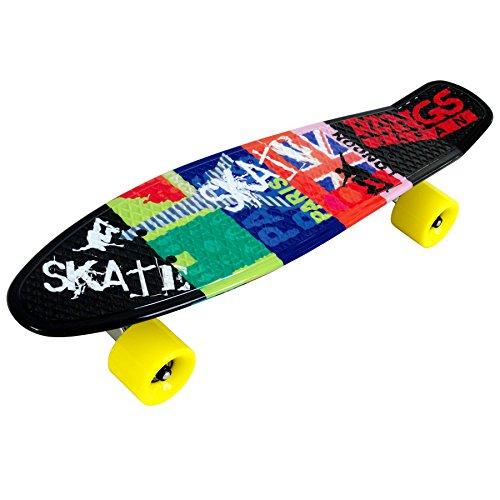 ラングスジャパン(RANGS) スケートボード ラングスR2ミニクルーザー ブラック 22インチ