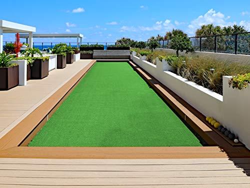 Cesped artificial terraza exterior Miami - rollo cesped artificial 7mm 2x5m de altura con alta densidad - calidad profesional - fácil instalación con buen drenaje