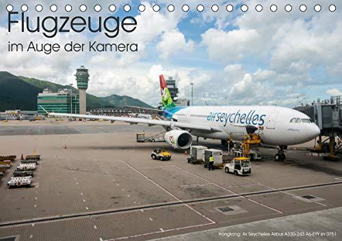 Flugzeuge im Auge der Kamera (Tischkalender 2021 DIN A5 quer)