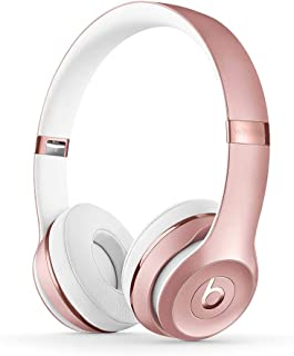 Beats Solo3 Wireless On-Ear Headphones - Apple W1 Headphone Chip, Class 1 Bluetooth, 40 Hours Of Listening Time - Rose Gol...