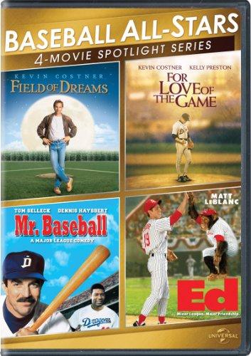 Baseball All-Stars 4-Movie Spotlight Series [DVD]