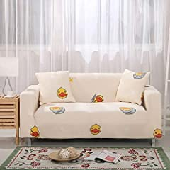 These Slipcovers Are Super Soft And Comfortable,Natural Environmental And Eco Friendly.protect Your Sofa From Spills,Stains And Tearing.a Great Choice For Homes With Children And Pets Check The Installation Guide Carefully,It Can Be Finished Within 1...