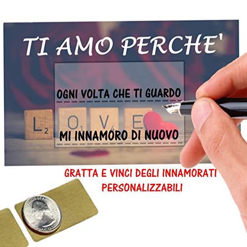 Gratta E Vinci Personalizzato Degli Innamorati...