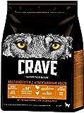 CRAVE Premium Trockenfutter mit Truthahn & Huhn für Hunde – Getreidefreies Adult Hundefutter mit hohem Proteingehalt – Großpackung – 3 x 2.8 kg