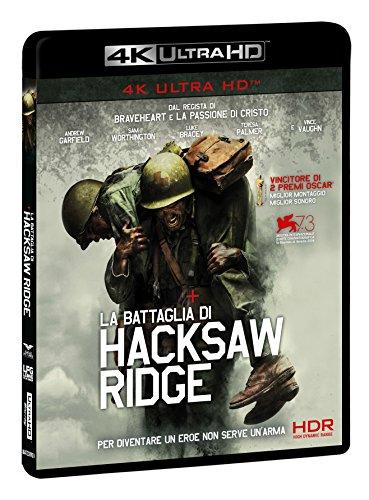 La Battaglia Di Hacksaw Ridge  (Blu-Ray 4K) [Italia] [Blu-ray]