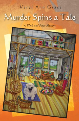 Murder Spins a Tale: A Flock and Fiber Mystery (English Edition)