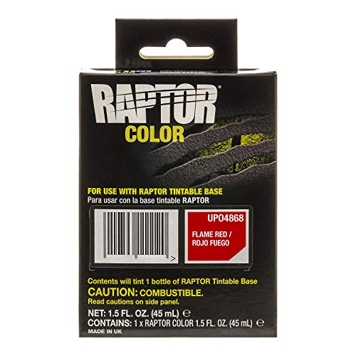 U-Pol Raptor Color Tint Pouches - Flame Red