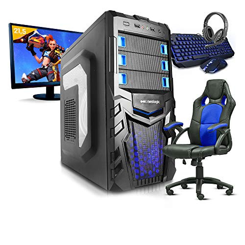 Pc Gamer Completo SmaRt Pc SMT81074 i5 8GB (Geforce GTX 1050TI 4GB) 1TB + Cadeira Gamer