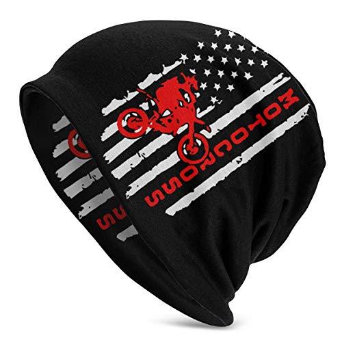 shenguang amerikanische Flagge Motocross Dirt Bike Frauen Männer einfarbige Mütze -...