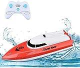 PowerLead Rc Boot Fernbedienung Boot RC Mini Fernbedienung Innen Lakes Rennboote für Kinder
