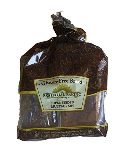 Super Seeded Multi-grain Gluten-free, Dairy-free, Nut-free, Soy-free Bread / 2 Loaves - 34.60z., 980 Grams