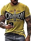 Camiseta para Hombre Aceite lubricante Estilo Tuning para Coche Estampado Vintage Manga Corta Verano Cuello Redondo Motociclista Camisetas