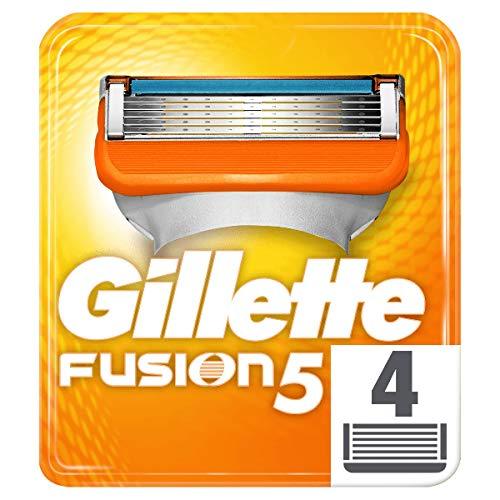 Gillette Fusion5 Maquinilla Afeitar - 4 Recambios