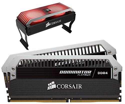 Corsair CMD16GX4M2B3466C16 Dominator Platinum Kit di Memoria per Desktop a Elevate Prestazioni, DDR4 16 GB, 2 x 8 GB, 3466 MHz, Nero