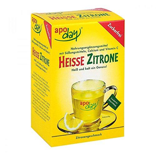 apoday Heisse Zitrone zuckerfrei Beutel, 10 St. Beutel