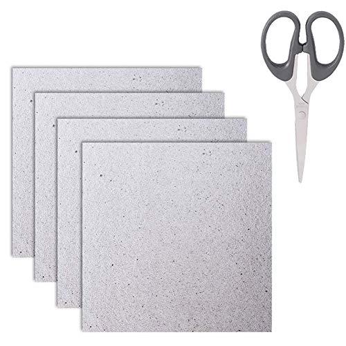 Waveguide cover universale per forno a microonde mica fogli tagliato a misura 13 * 13 cm