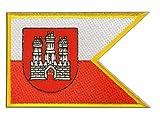 Aufnäher Patch Flagge Slowakei Bratislava Pressburg - 8 x 6 cm