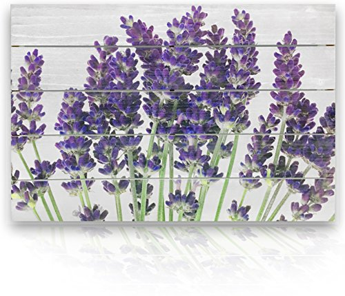 "| Natural Wood Wall Decor 16"" x 24"" 