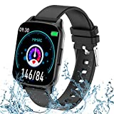 Smart Watch for Women Men - Waterproof Fitness Tracker with Heart Rate Blood Pressure Oxygen Monitor, Running Pedometer Calorie - Sport Activity Tracker Smartwatch for iPhone Android Phone