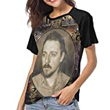 Photo de Ovilsm T-Shirt à Manche Courte Femme, Sturgill Simpson Women Women's Baseball Short Sleeves Soft Short SleeveStylish Baseball T par