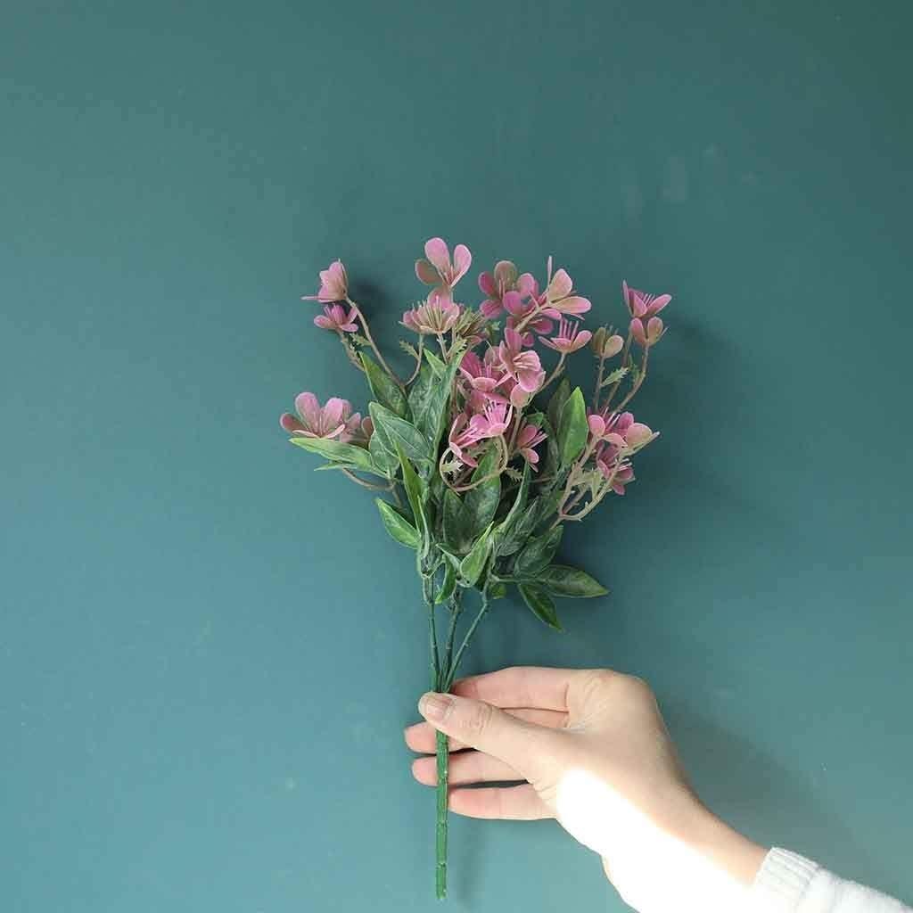 YeLukk Artificial Flowers For Decoration Plum Fragrant Simu Overseas parallel import regular item Sacramento Mall Fake
