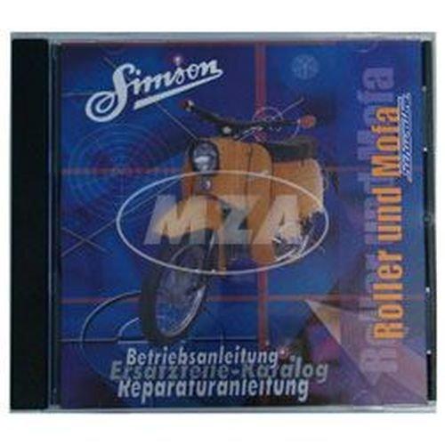 CD, SIMSON Roller und Mofa ORIGINALDOKUMENTE (Reparaturanleitungen, Ersatzteilkataloge, Betriebsanleitungen)
