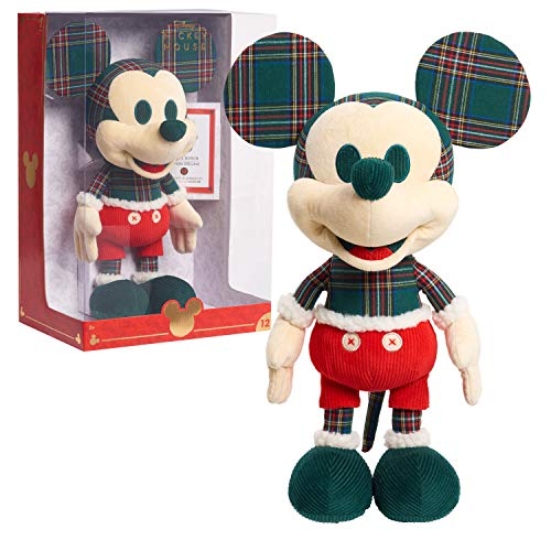 Disney Year of the Mouse Collector Plush, Holiday Spirit Mouse Mickey, Amazon Exclusive by Just Play