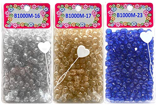 Tara Metallic Color 12 MM Plastic B…