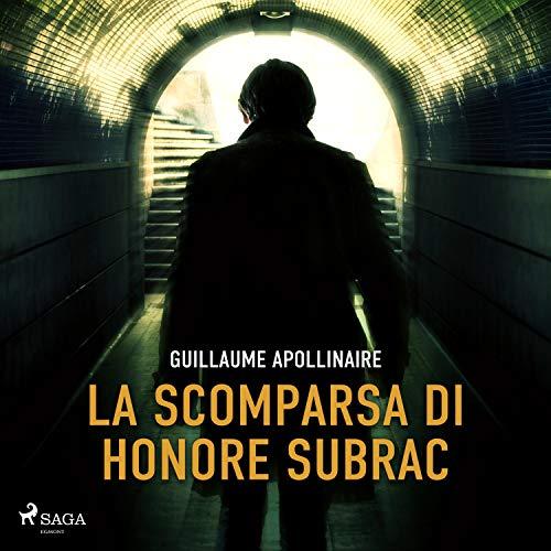 La scomparsa di Honore Subrac copertina