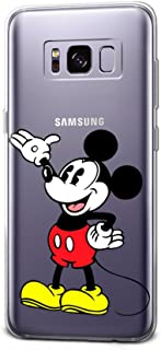 GSPSTORE Galaxy Note 8 Case Disney Cartoon Mickey Minnie Mouse Hard Plastic Protector Cover For Samsung Galaxy Note 8#10