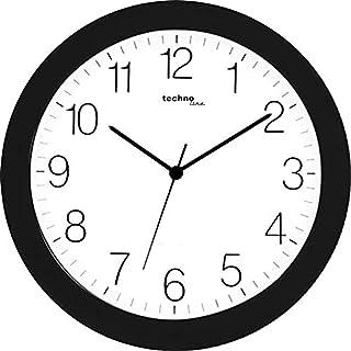 Technoline WT 7000 Wall Clock Quartz Diameter 30 cm Black 1 Piece