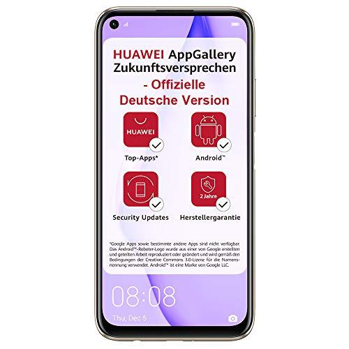 HUAWEI P40 lite Smartphone, 128 GB interner Speicher, 6 GB RAM, Sakura Pink