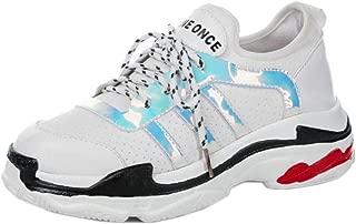 VulusValas Women Lace Up Sport Shoes