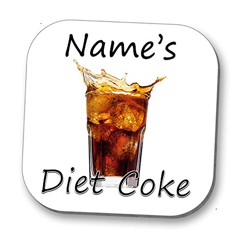 Hot Off The Press UK Love a Tipple, Personalised Coaster - Diet Coke!