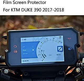 SMT MOTO- For KTM DUKE 390 2017-2018 Dashboard / Speedo Screen Protector Film Screen