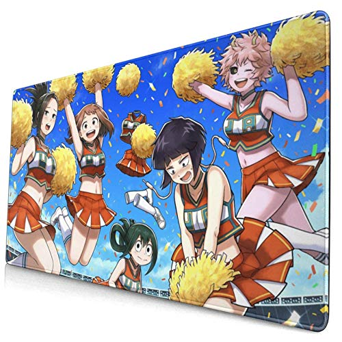 MyHero Academia Pad 40 x 75 cm Multiusos Cómodo Impermeable Almohadilla de Escritorio Alfombrilla para Gamer Oficina Hogar (40 x 75 cm)