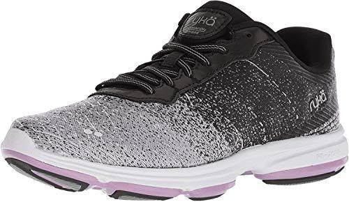 Ryka Women's Dominion OMB Walking Shoe, Black, 10 M US